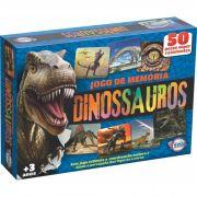 Jogo da Memória dos Dinossauros - Idade + 3 anos - Embalagem: 28 x 20 x 6cm.