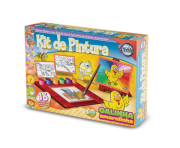 Kit Pintura da Galinha Amarelinha + 5 anos