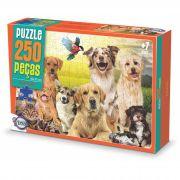Puzzle Animais Amizade - 250 Peças / Idade + 7 anos