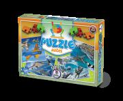 Puzzle Aviões + 7 anos - Embalagem 33 x 22,5 x 4,5 cm