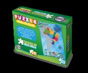 Puzzle Mapa do Brasil + 7 anos