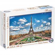 Puzzle Paris, França - Idade + 10 anos - Embalagem 30 x 21 x 6cm.
