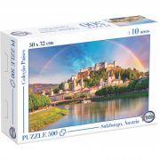 Puzzle Salzburgo, Áustria - Idade + 10 anos - Embalagem 30 x 21 x 6 cm