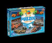 Puzzle Stock Car + 7 anos - Embalagem 33 x 22,5 x 4,5 cm