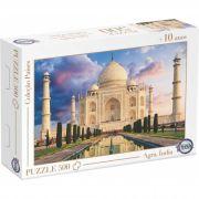 Puzzle Taj Mahal, Agra, Índia - Idade + 10 anos - Embalagem 30 x 21 x 6cm