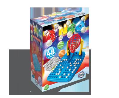 Bingo 48 Cartelas + 5 anos
