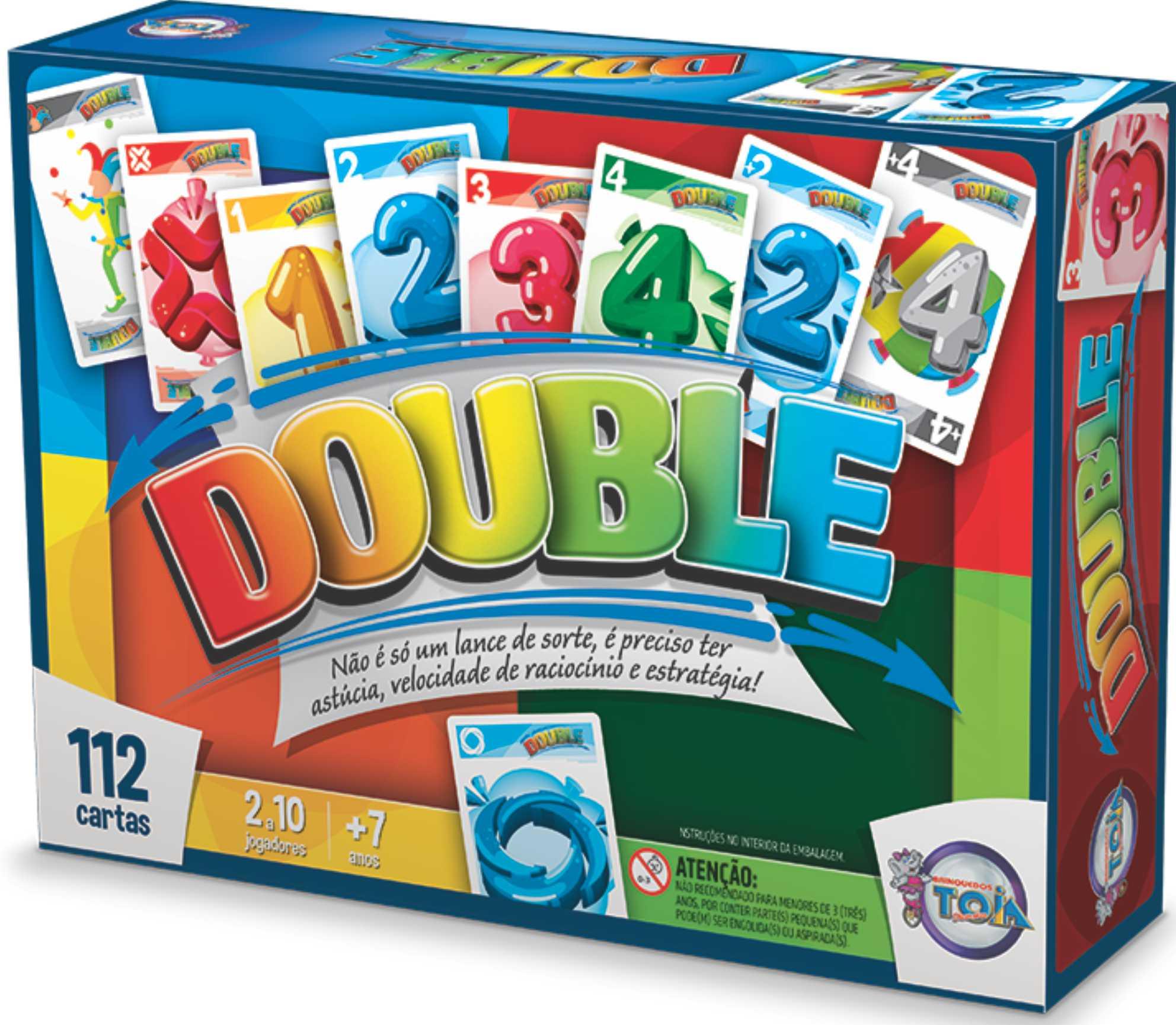 Double - Idade 7 anos - Embalagem: 28 x 20 x 6cm