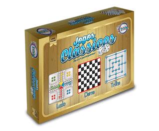 Jogos Clássicos - Triplo + 6 anos