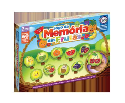 Memória das Frutas + 3 anos