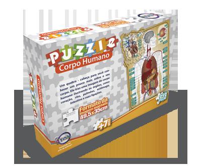 Puzzle Corpo Humano + 7 anos
