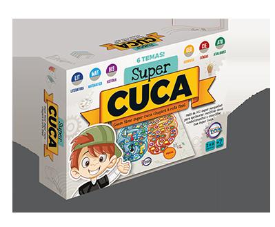 Super Cuca + 7 anos - Embalagem 42 x 28 x 8 cm.
