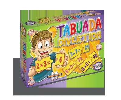 Tabuada Divertida + 7 anos