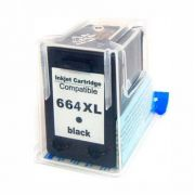 CARTUCHO HP 664 XL BLACK COMPATIVEL