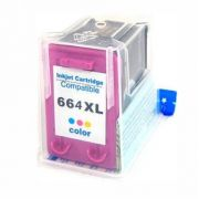 CARTUCHO HP 664 XL COMPATIVEL COLOR