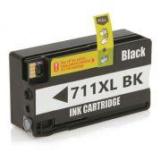 CARTUCHO HP 711 XL BLACK - COMPATIVEL