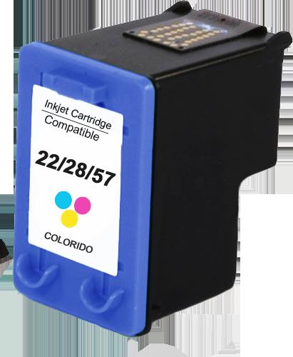 Cartucho HP 22 / 28 / 57 Compatível Color