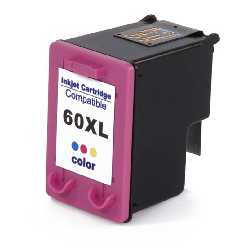 CARTUCHO COMPATIVEL HP 60 XL COLOR