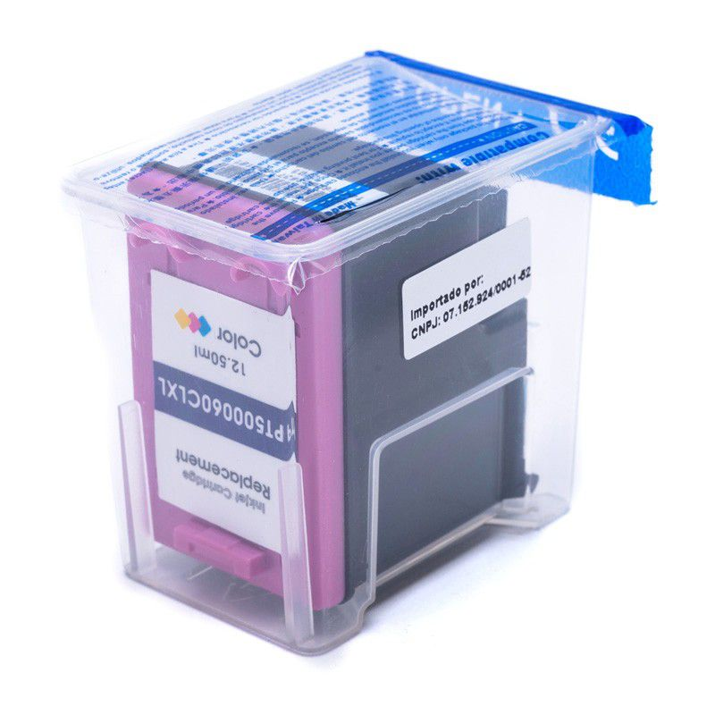 Cartucho HP 60 XL Color Compatível