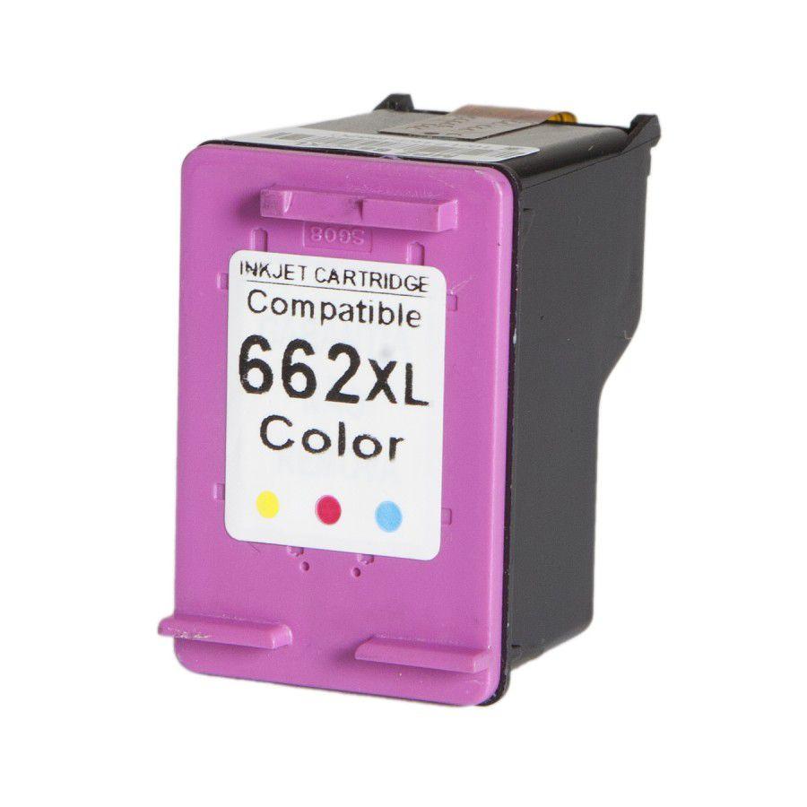 CARTUCHO HP 662 XL COLOR COMPATIVEL