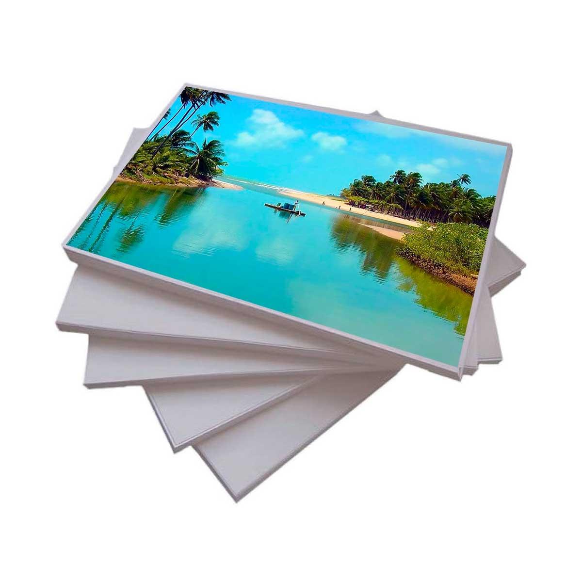 Papel Fotográfico Neutro 180G A4 - C/ 50 Folhas