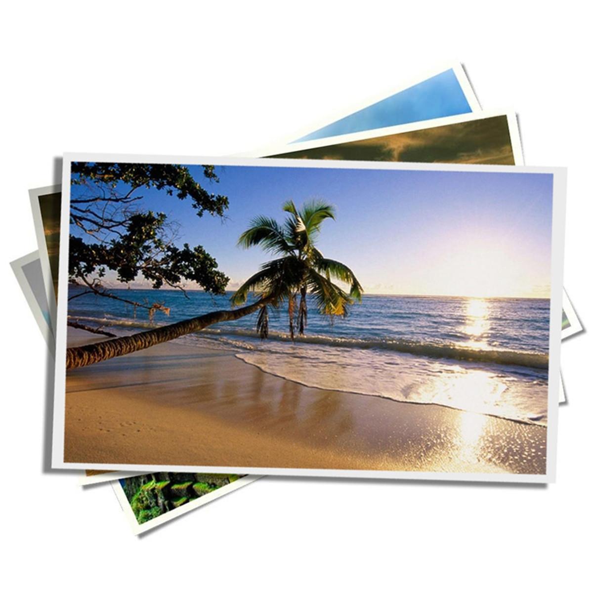 Papel Fotográfico Neutro 230G A4 - C/ 50 Folhas