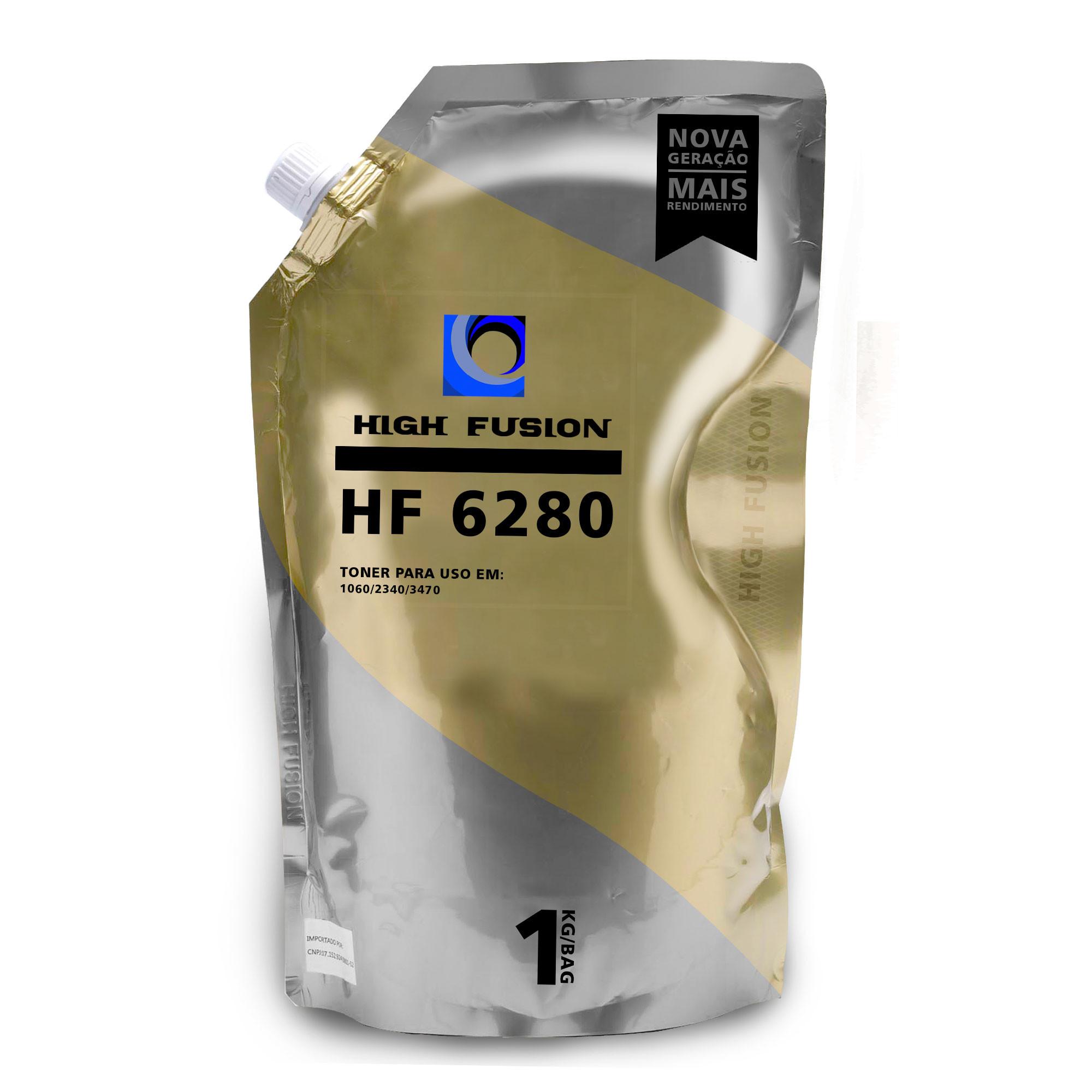 PO DE TONER BROTHER HIGH FUSION HF6280 C/ 1060/2340/3470 BAG 1KG