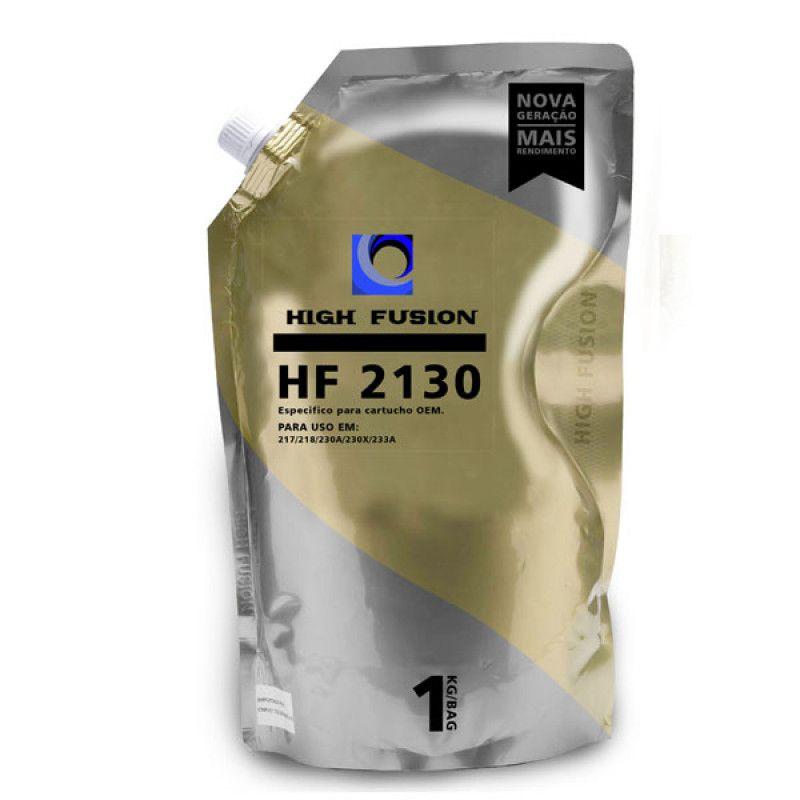 Pó de Toner High Fusion HF2130 p/ 217/218/230a/233a 1 Kg