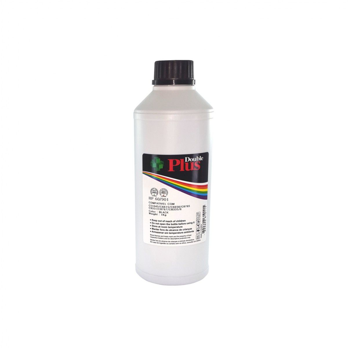 TINTA HP DOUBLE PLUS PIGMENTADA BLACK