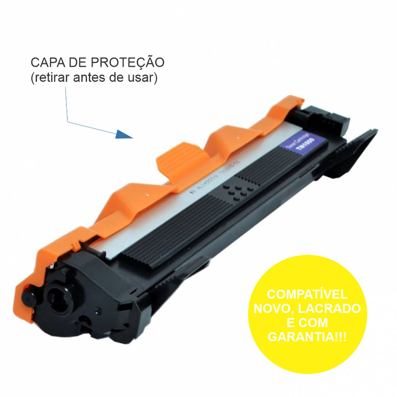 Toner Brother  TN1060 para DCP1512, HL1112, DCP1617NW, HL1202, DCP1602, HL1212W - Compativel Premium