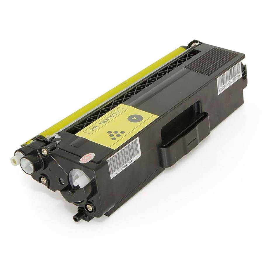 TONER BROTHER TN310/315 YELLOW 1,5K - COMPATIVEL PREMIUM