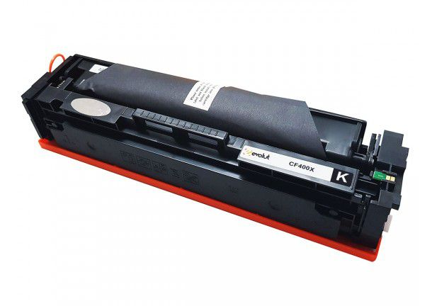 TONER HP CF 400X CF400X 201A 2,6k  BK - COMPATIVEL EVOLUT