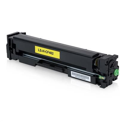 TONER HP CF402A CF402AB 201A 1,4k YELLOW - COMPATIVEL PREMIUM