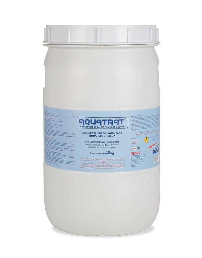 AQUATRAT® HIPOCLORITO DE CÁLCIO GRANULADO GENCO® | Embalagem: 40 Kg
