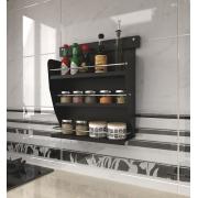 Kit Nicho Porta Condimentos Linha Colors + Suporte
