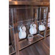 Porta Utensílios Aéreo para cozinha Air