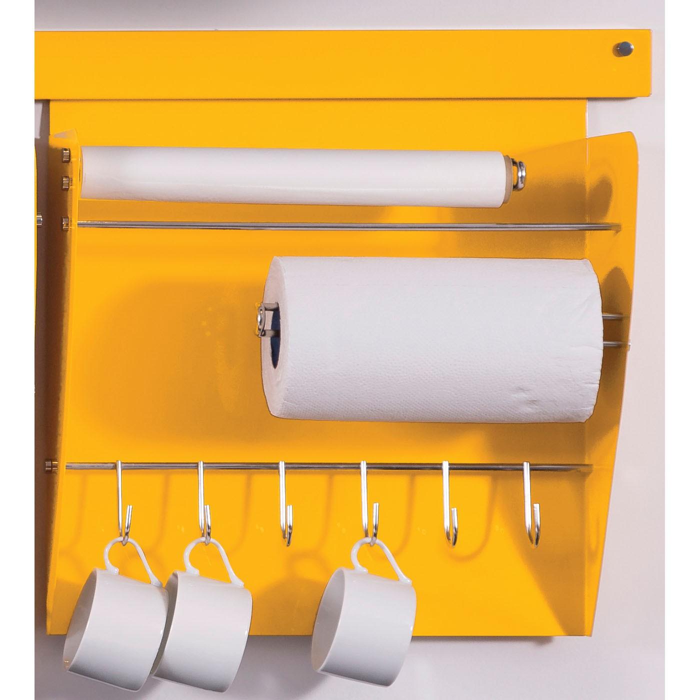 Nicho Porta Rolos Linha Colors - Cores especiais.