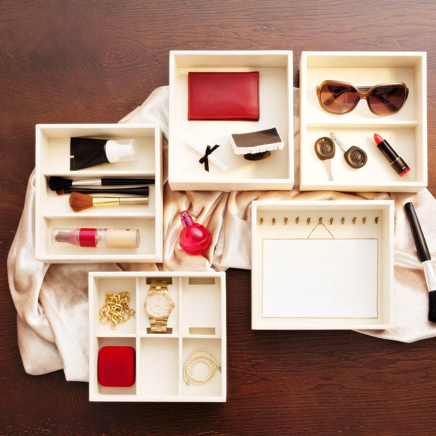 Organizador de anéis e objetos para gaveta Tria - Masutti Copat