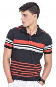 Camisa Polo Masculina Listrada Hifen 100% Algodão