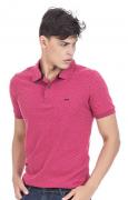 Camisa Polo Masculina Minimalista Hifen Vermelha