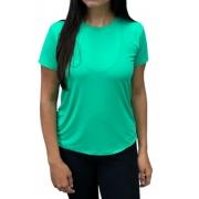 Camiseta Feminina Hifen  UV 50+ Verde