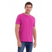 Camiseta Masculina 100% Algodão Super Premium, Na Cor Rosa