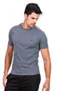 Camiseta Masculina Básica Hifen Cinza