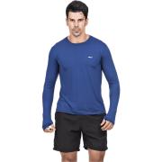 Camiseta Masculina Hifen com Proteção Solar UV 50+ - Manga Longa Cor Marinho