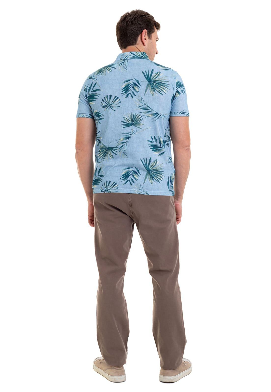 Camisa de Abotoamento Hifen