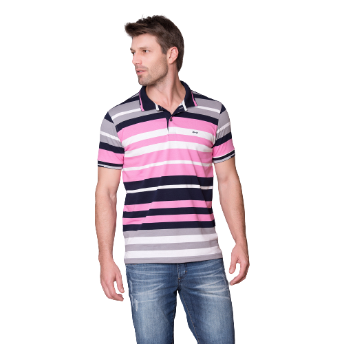 Camisa Hifen Polo listrada
