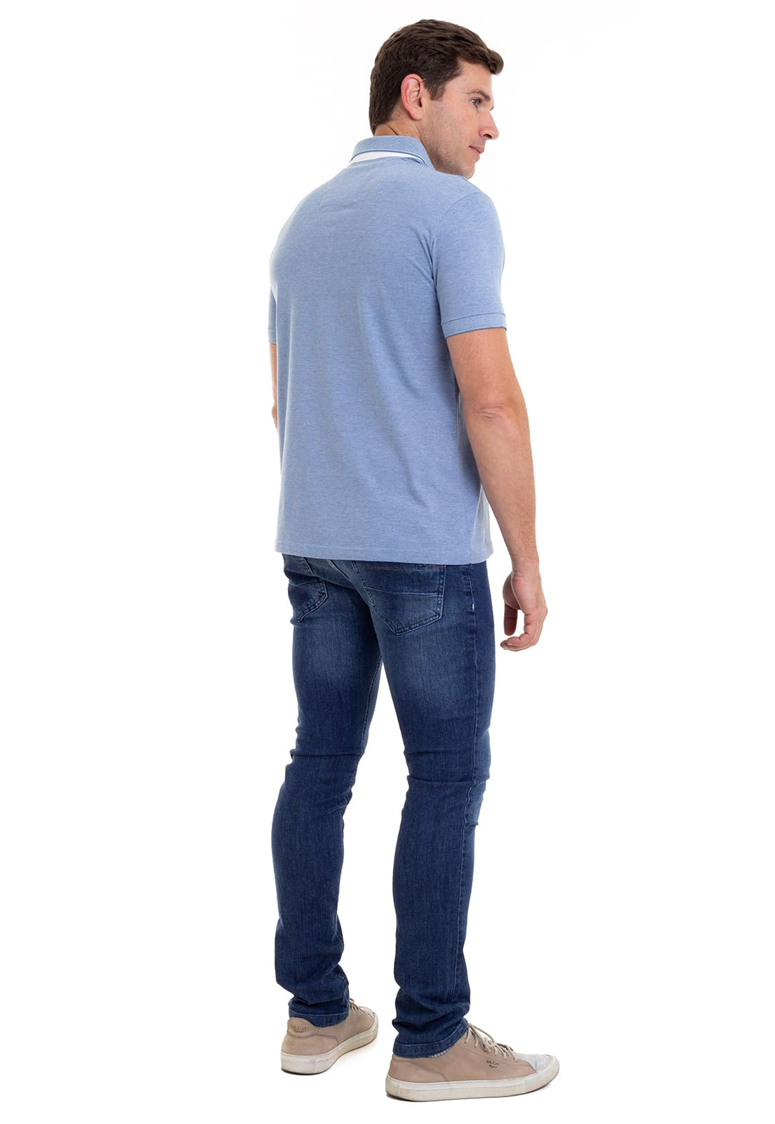 Camisa Polo Masculina Hifen
