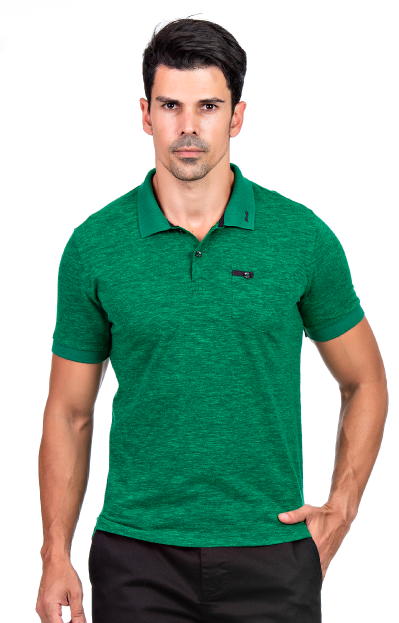 Camisa Polo Masculina Hifen Verde