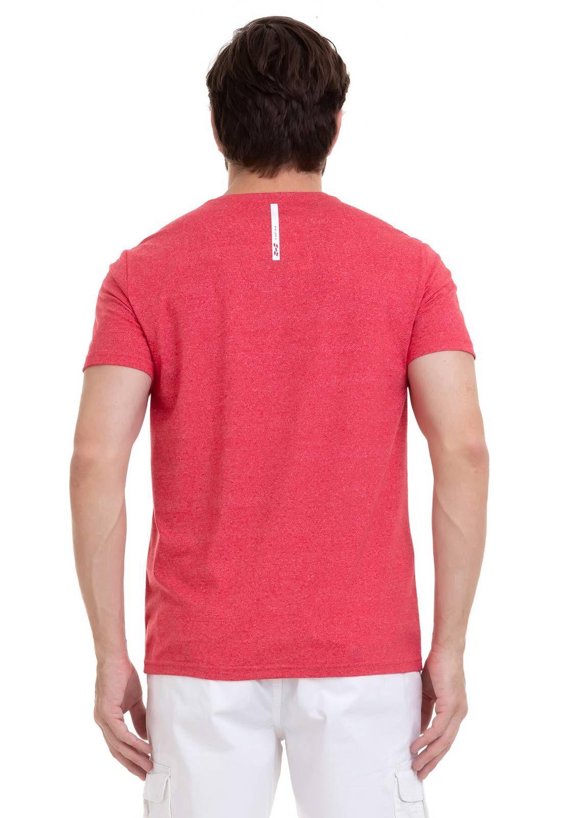 Camiseta Com Efeito Mescla