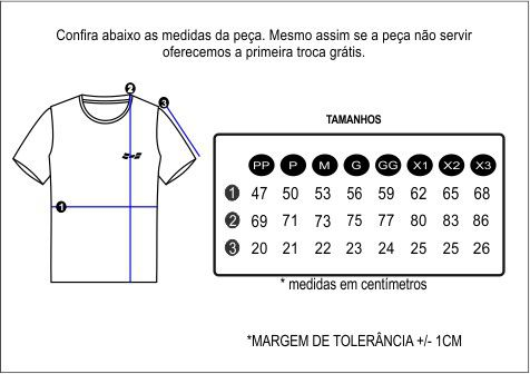 Camiseta Estampa Exclusiva