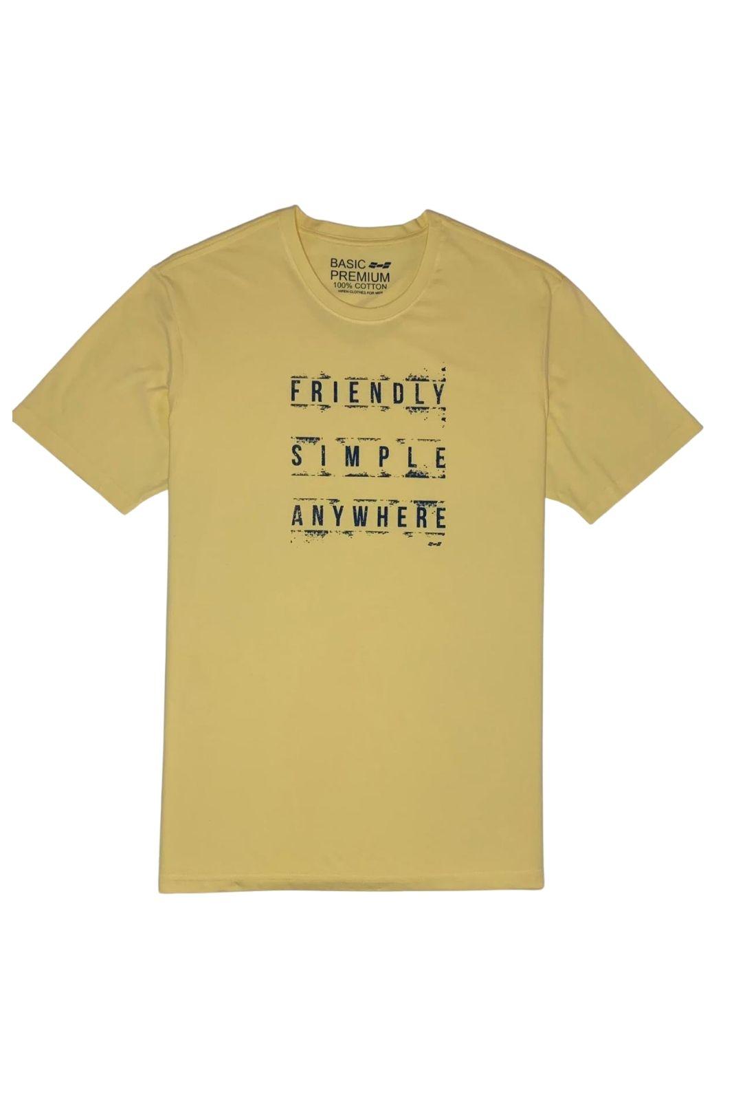 Camiseta Estampa Exclusiva Hifen